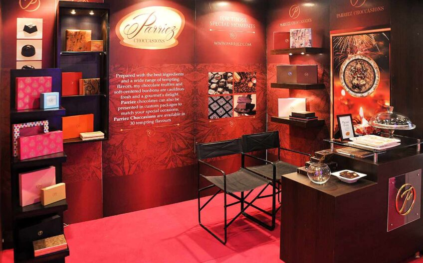 Exhibition stall design for Parriez