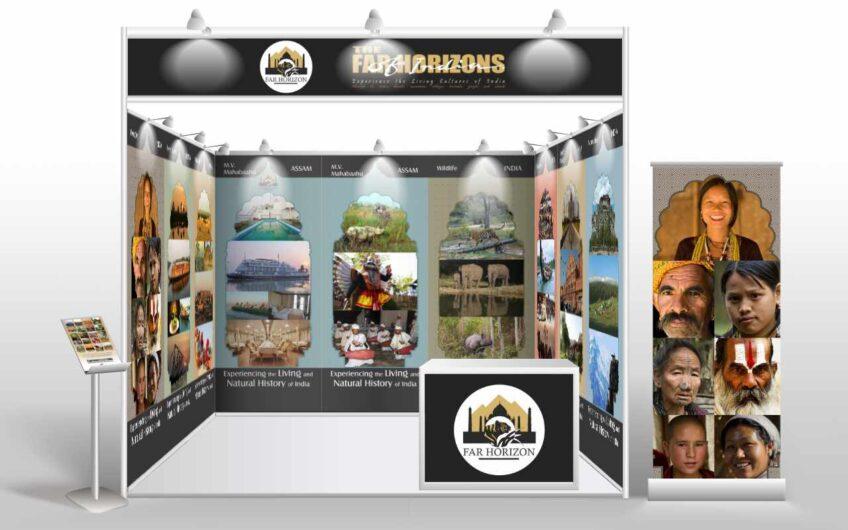 Far Horizon Tours exhibition stall design for PTM 2015