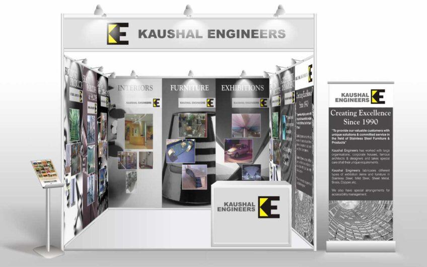 Kaushal Engineers exhibition stall design