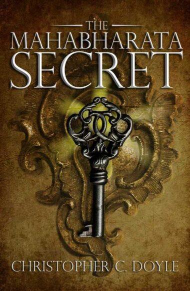 The Mahabharata Secret, book cover design for Christopher C Doyle