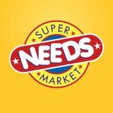 Needs Supermarket logo design
