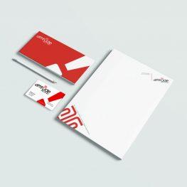 Attitude-Alive Stationery design